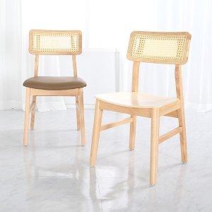 핸즈 라탄 체어 원목 케인 인테리어 카페 식탁 의자