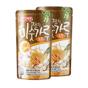 삼육 미숫가루두유 190ml 60팩 달콤한 두유