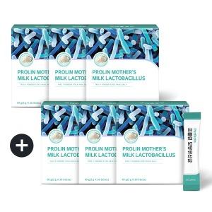 퍼펙토 프롤린 모유유산균 3+3박스 180포 6개월분