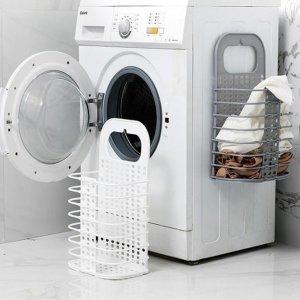 w28 부착식 다용도 세탁바구니 빨래바구니 중형 1p