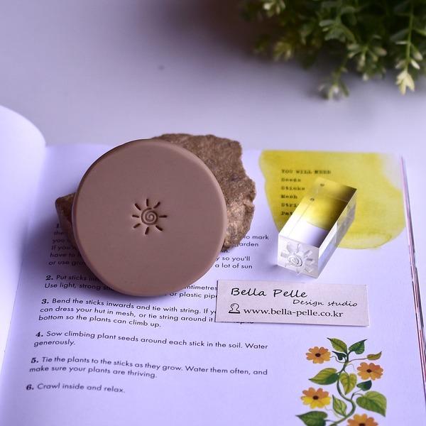햇님-2 아크릴 비누스탬프 비누도장 sun soap stamp