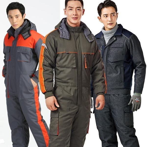 겨울스즈끼 안전복 작업복 정비복 우주복일체형작업복