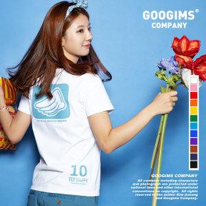 구김스  075_ 플라이 날개 반팔 티셔츠 (G11MMRT602)