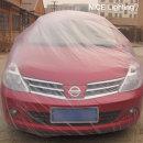 자동차 덮개 차량용 카바 도색 비닐 일회용 커버 (소)