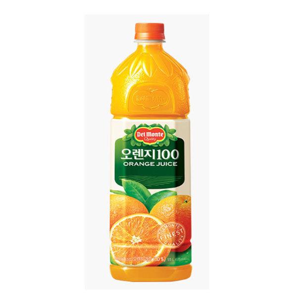 델몬트 오렌지 주스1.5LX12pet