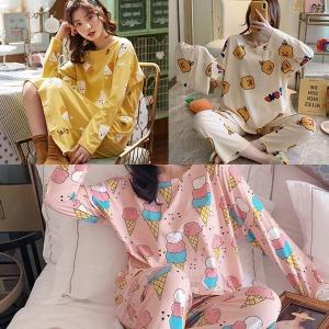 75종 1+1수면바지/여성잠옷 원피스 홈웨어 수면잠옷