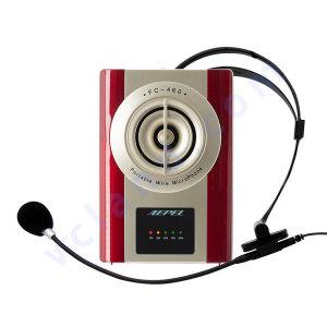 강의용마이크 에펠폰 FC-460 학교 수업 기가폰 헤드셋
