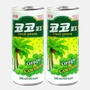 코코포도240ml 30캔 코코넛알갱이함유 포도과즙음료