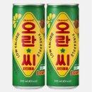 오란씨파인250ml 과즙탄산음료 오란씨 캔음료