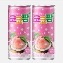 코코팜피치핑크240ml 코코넛음료 캔음료 복숭아과즙