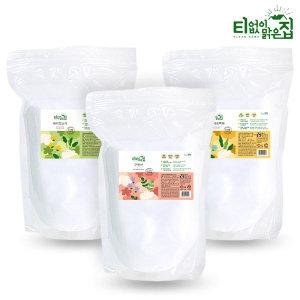 구연산 베이킹소다 산소계표백제 과탄산소다 지퍼3X1kg