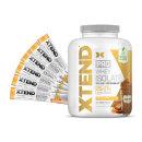 6서빙 추가증정 + XTEND 프로 웨이 아이솔레이트 쿠키 버터 단백질 보충제 65 서빙 2.28 kg