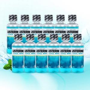 리스테린 쿨민트 100ml x 12개 /구강청결 휴대용