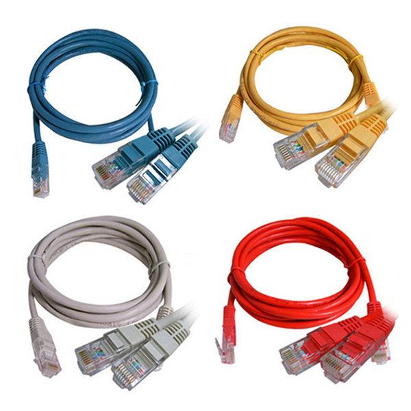 랜선 랜케이블 인터넷 공유기 UPT LAN 연결 CAT.5E 2M