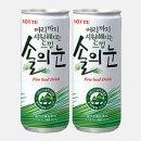 솔의눈240ml 솔잎추출물함유 건강음료 캔음료