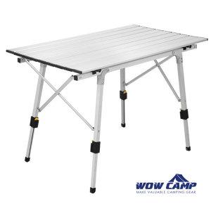 튼튼한 높이조절 캠핑테이블 대형 롤테이블 WRT-090
