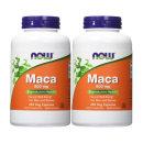 2개 Now Foods 마카 Maca 500 mg 250 베지 캡슐