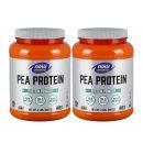 2개 Now Foods 식물성 완두콩 단백질 쉐이크 피프로틴 파우더 907 g