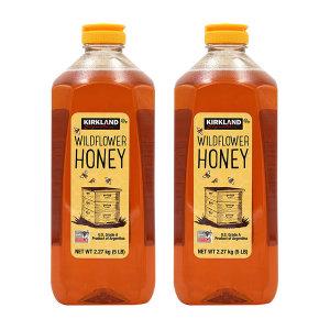 2개 Kirkland 코스트코 야생화 와일드플라워 꿀 허니 아르헨티나 A등급 2.27 kg