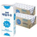 매일 멸균우유 200ml x 48팩 / 흰우유 음료수