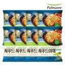 풀무원 씨푸드야채 철판볶음밥 406g 8봉(16인분)