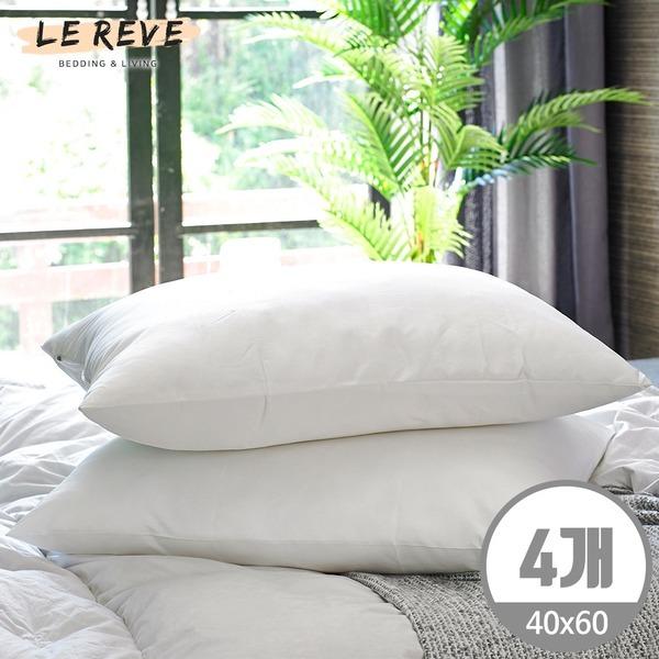 최다구성 2+2 지퍼형 구름 베개솜/깨끗한 베개솜/베개