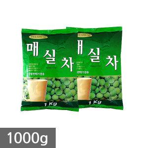 대호 매실차 1kg x 12개/자판기용 차음료 아이스티 홍