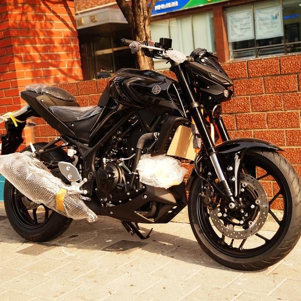 야마하 오토바이 MT-03 ABS 네이키드 / YZF-R3