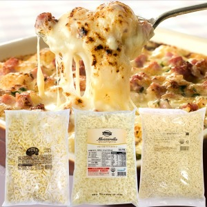 자연100%/모짜렐라 피자치즈2.5kg/남양피자치즈2.5kg