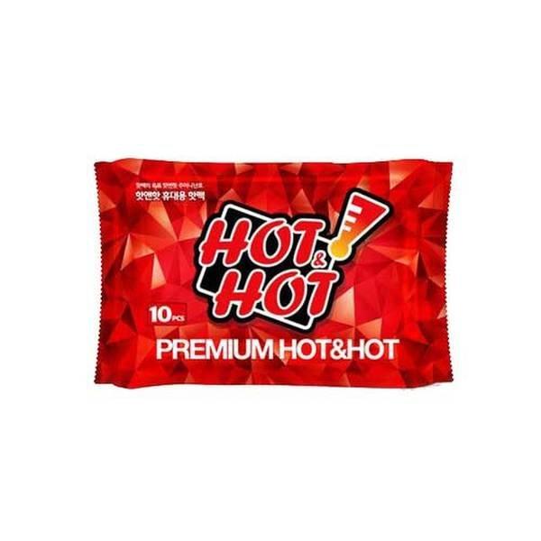 (핫앤핫(HOT HOT))  핫앤핫 일반형 핫팩 60매(10매입 6팩) / 대용량  선물용