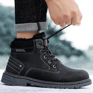 남성 캐주얼 빈티지 방한화 겨울신발 등산화 A9734