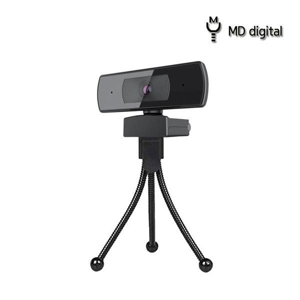 엠디디지탈 웹캠 화상 PC 컴퓨터 카메라 MD-HD1080P