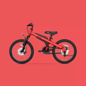 샤오미 Ninebot 어린이 자전거 보조바퀴 14인치 레드