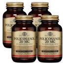4개 Solgar 폴리코사놀 20 mg 100 베지 캡슐