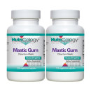 2개 Nutricology 매스틱검 Mastic Gum 120 베지 캡슐