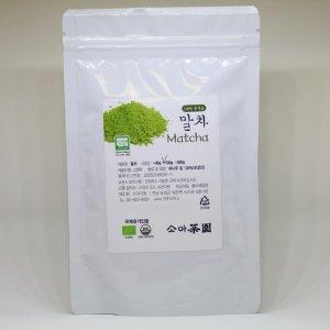 유기농 말차 가루녹차 100g (보성산)