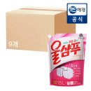 울샴푸 중성세제 오리지널 1.5L 9입 (box)
