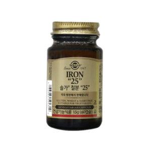 솔가 철분 60캡슐/엽산제