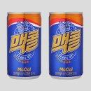 맥콜190ml 보리음료 탄산음료 캔음료수 구수한보리향
