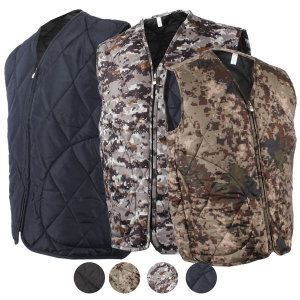 조끼형 깔깔이 브이넥형 방한복 방한내피 겨울 작업복