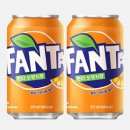 환타오렌지355ml 뚱캔 탄산캔음료 오렌지맛음료