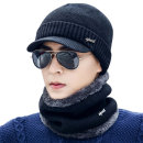 솔리드 캡비니+넥워머 세트_남여공용 겨울모자