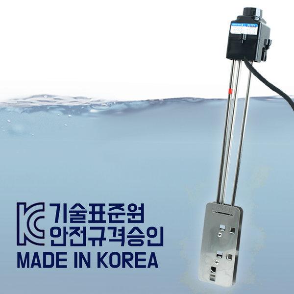 지와트 전기온수히터 3kw-500mm 돼지꼬리 전기온수기
