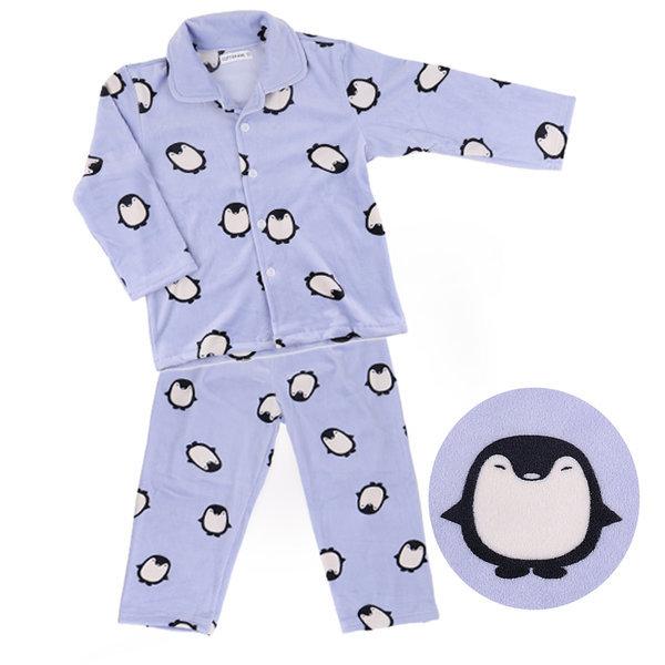 오브 퐁퐁펭귄 남아 울트라밍크잠옷세트 아동수면잠옷