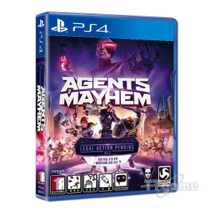 PS4 에이전트 오브 메이헴 한글판