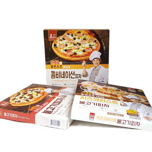 한맥 이경규의 돌판오븐 피자 3종세트 /불고기피자