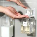접착식 공중부양 홀더 샴푸걸이 손소독제 욕실거치대