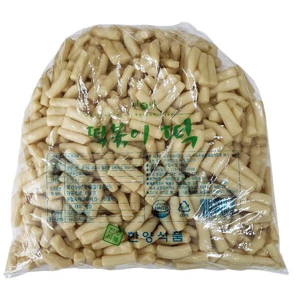 한양식품 밀떡볶이떡 40MM 3.75kg/밀떡볶이 밀떡