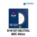 B+W NEUTRAL MRC필터 49mm 명품필터 UV필터 필터추천