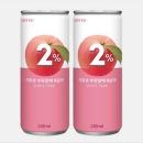 2프로복숭아240ml 이온음료 2%부족할때